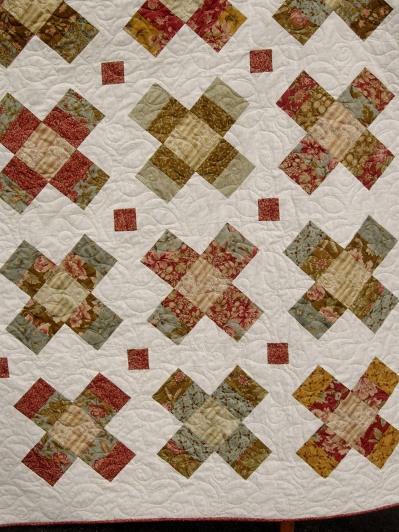 Quilt Pattern - Baby to King - Jelly Roll - Layer Cake - Charm ... : charm square quilt pattern - Adamdwight.com