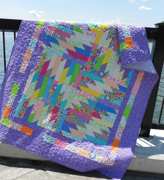 Layer Cake Quilt Pattern - Delectable Cabin Cakes - Easy -  PDF INSTANT DOWNLOAD