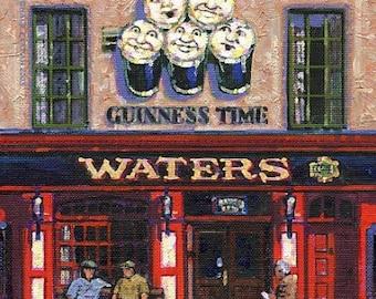 Color Print of Oil Painting, Irish Scene 9, Ireland