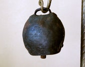 Antique Cow Bell // Low Drum