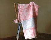 Vintage Camp Blanket // The Pink Throw