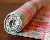 Vintage Rag Rug // Scandinavian Floor Runner // 6 ft