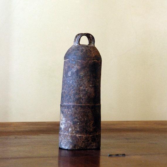 Antique Cow Bell / Rustic Farm Piece