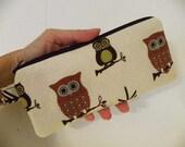 Owls Pencil Case