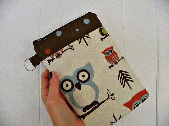 Sale-Owls ipad mini/Kindle 3/Nook Color / Kindle Fire / Tablet PC / eReader Sleeve Case Cover