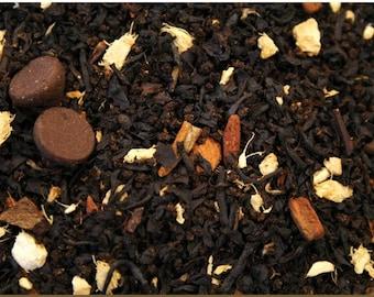 1 oz Dark chocolate Chai Tea