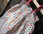 Polka Dot Mock Smocked Sundress size 2T