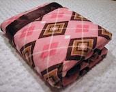 Preppy Argyle Baby Blanket