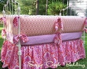 Honey Child Girl's Crib Bedding 4pc Set.......Sugar Creek Bedding and Fabric