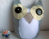 Plush Felt Owl