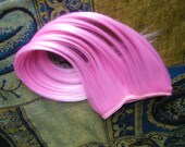 cotton candy pink hair extension weft or clip in