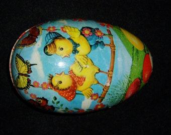 Rare Western Germany Paper Mache Egg, 1940s