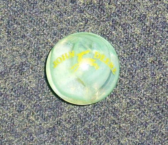 Vintage John Deere Advertising Marble