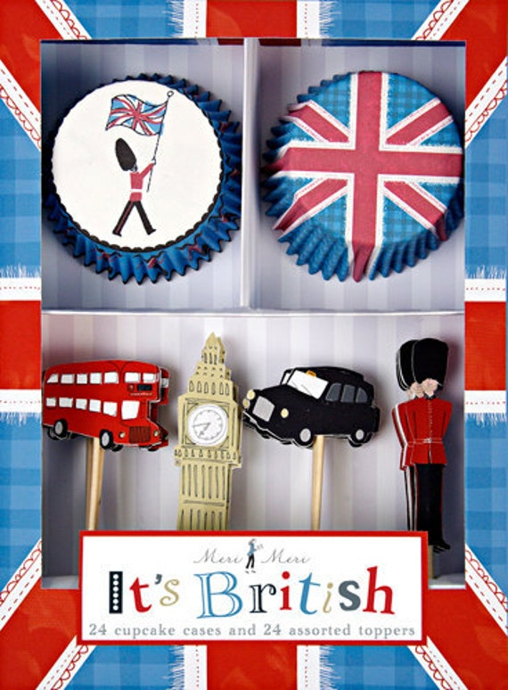 It's British Cupcake Kit (24 Cupcakes)