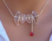 Vampire Bite Swarovski Crystal Necklace - THE ORIGINAL