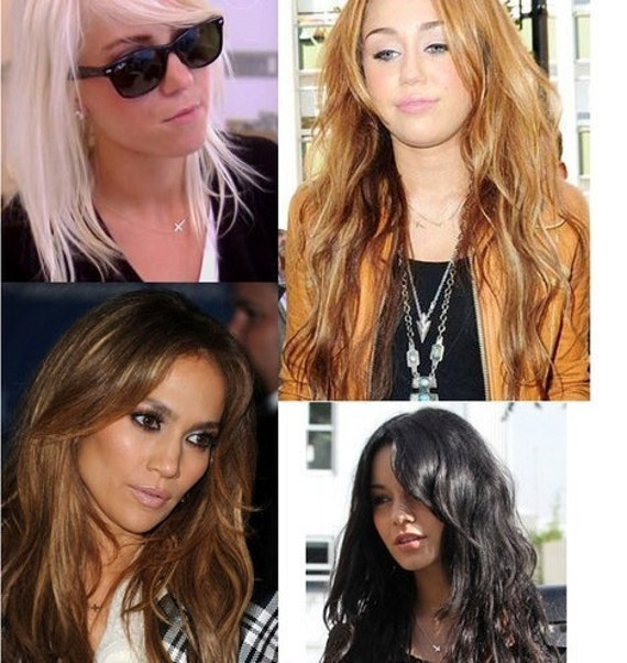 LOVE SALE SALE 40% Off Sideways Sterling Silver Cross Necklace inspired by Taylor Jacobson Vanessa Hudgens Miley Cyrus