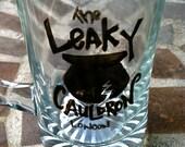 The Leaky Cauldron Glass Tankard - Harry Potter- Literary Pub Tankard Series