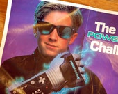Vintage Nintendo Power Glove Poster Advertisement and Instructions