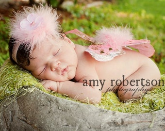 Mommy's Posh Little Angel HEADBAND - All Sizes Available