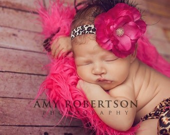 The LAVISH LEOPARD Headband - Preemie to Adult Sizes Available