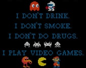 The king of kong quote cross stitch pattern PDF