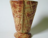 Waffle Cone Ice Cream Bowl, Milkshake, or Latte Cup on ETSY