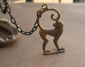 Brass Monkey - That Funky Monkey Necklace