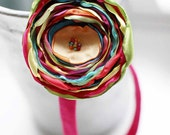 Calypso - Multi-Colored Floral Headband