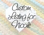 Custom Listing for Nicole - 90 paper hearts