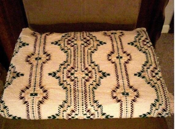 "SALE  - 15% OFF  -  Swedish Weave Blanket VII - Large - 60"" x 78""  (Regular price 130.00)"