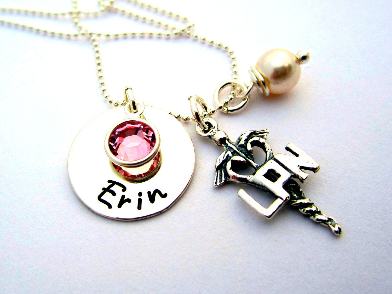 lpn necklace gift lpn necklace by