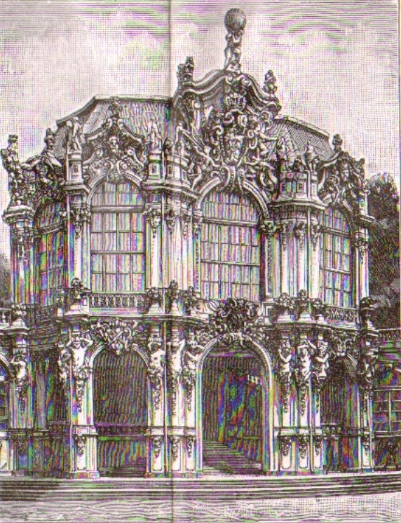1893 european baroque and rococo by cabinetoftreasures on etsy for Architecture rococo