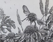 Bee Aware Etching