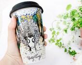 SALE Sheep Mug - Ceramic Mug Travel Mug Eco-Friendly WAS 47 USD