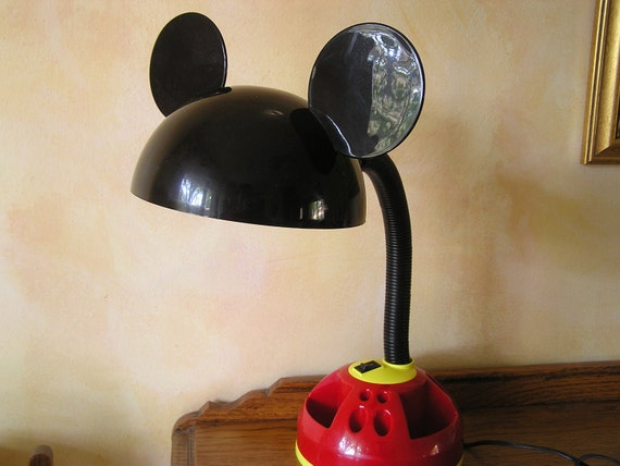 Mickey Mouse Desk Lamp Mouse Ears Disney