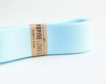 25 yards of Porcelain Blue Grosgrain Ribbon xoxo