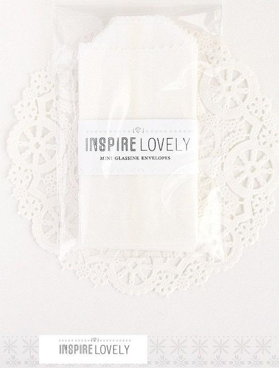 Mini Glassine Envelopes