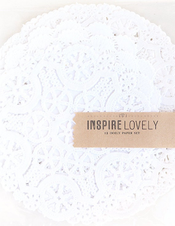 Lovely Doily Paper Set- Vintage love