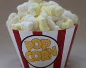 INSTANT DOWNLOAD Movie Popcorn Box Cupcake Wrappers Digital Printable PDF File