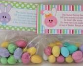INSTANT DOWNLOAD Easter Party Favor Bunny Poop Basket Filler Printable PDF File