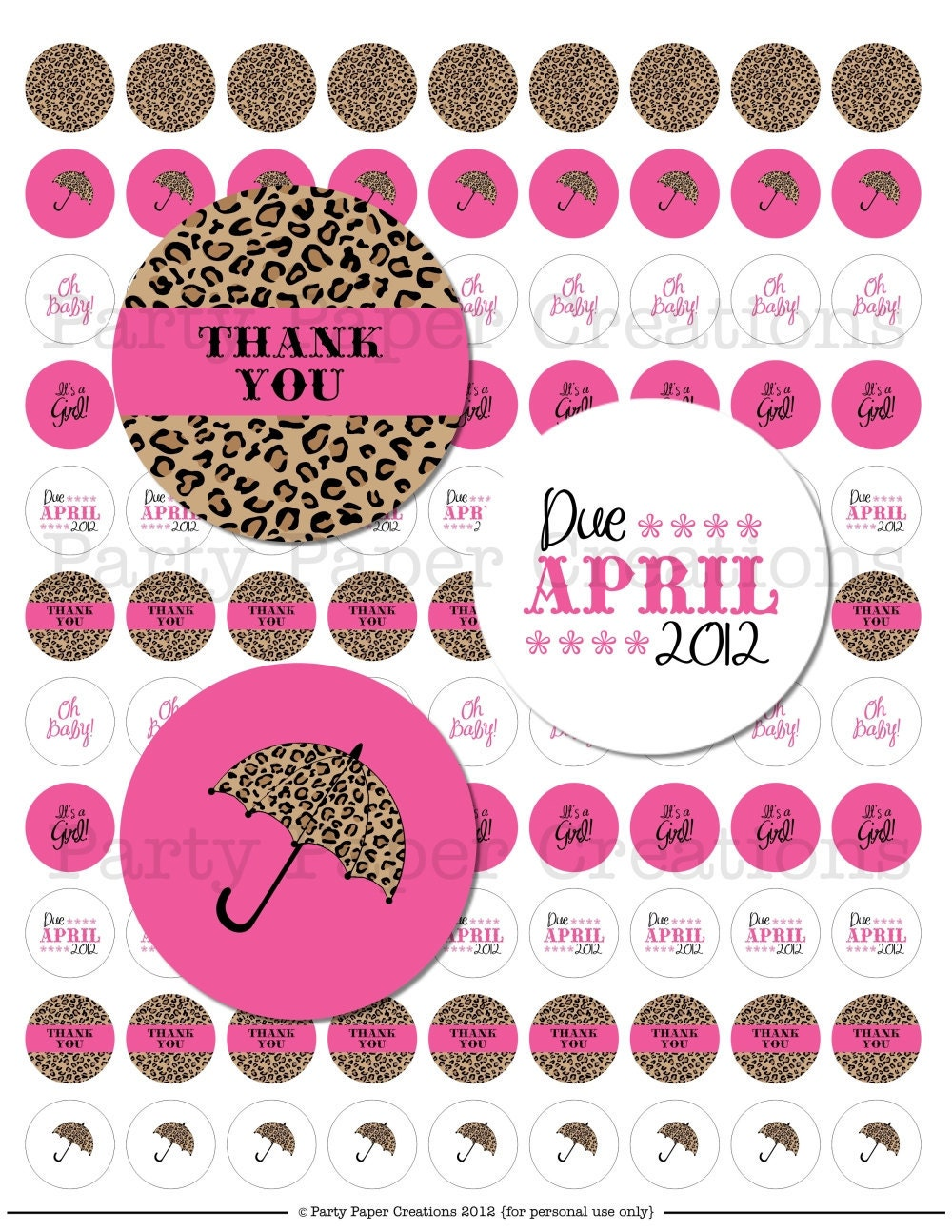 Save baby shower decorations leopard to get e-mail alerts and updates on your eBay Feed. + Safari Girl Pink Zebra Leopard Animal Print Baby Shower Hanging Fan Decorations Brand New.