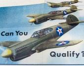 World War II U. S. Army Air Forces Recruiting Brochure