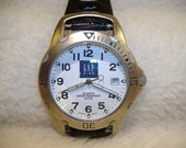 Vintage 1980s Gap Calendar Quartz Watch