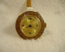 Vintage 1960s Timex Manual Wind Watch. Rare Model.
