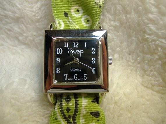 Vintage 1980s Swap Quartz Watch