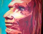 "Native American Art - ""War Party"""