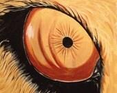 """Lion Eyes Painting - """"Lion Eye"""""""