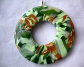 Saltwater Taffy Pendant Necklace