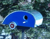 Tear Drop Trailer Birdhouse - Fathers Day Gift