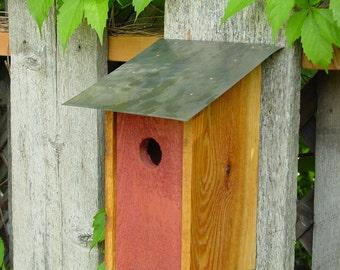 Bluebird House in Barn Red